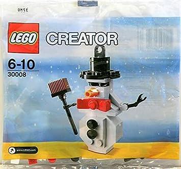 LEGO Estacional: Muñeco De Nieve Establecer 30008 (Bolsas ...