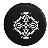 Irish Celtic Cross Jeep Spare Tire Cover