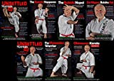 Hanshi Patrick McCarthy Okinawan Karate Kata Kumite 7 DVD Set