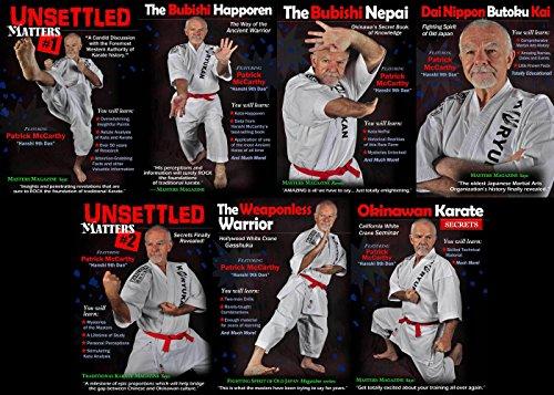 Hanshi Patrick McCarthy Okinawan Karate Kata Kumite 7 DVD Set by Rising Sun