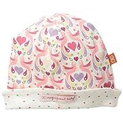 Magnificent Baby Baby-Girls Newborn Love Birds Reversible Hat, Love Birds, One Size