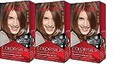 Revlon Colorsilk Beautiful Color, Light Brown, 3 Count