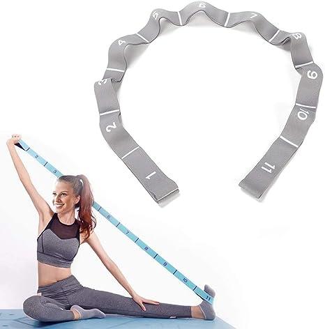 Yoga Resistance Band Dance Stretch Belt Exercise Elastic Pull Straps