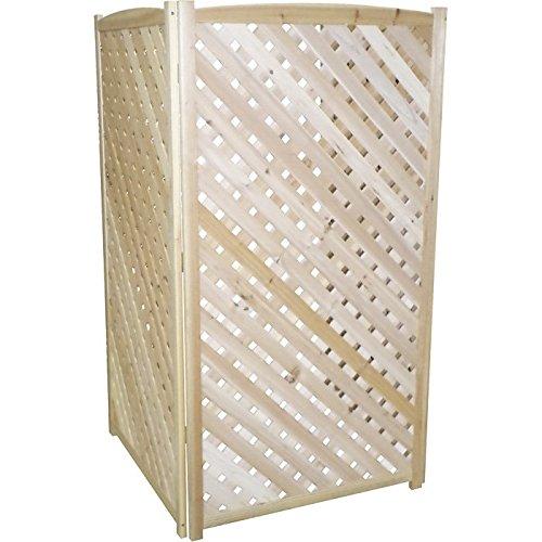 Stonegate® Designs 3-Panel Lattice Screen — 5ft. Tall, Model# - Lattice Wood Panels