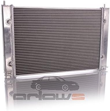 Arlows Aluminium Rennsport Wasserkühler Golf 1 2 16v 430x310x42mm Auto