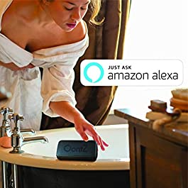 OontZ Angle 3 Shower – Plus Edition with Alexa, Waterproof Bluetooth Speaker, 10 Watts Power, Loud Crystal Clear Sound…