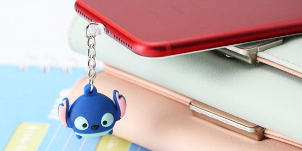 TM Winnie Pooh, iPhone ZOEAST Sulley Mike Winnie Stitch Zootopia Dock Data Charging Port Dustproof Plug Charm iPhone 5 5S SE 6 6S 7 7S 8 Plus X IPad iPod