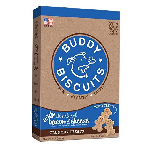Cloud Star Itty Bitty Buddy Biscuits Dog Treats, Bacon And Cheese Madness, 8-Ounce Boxes (Pack Of 6) Review