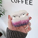 PHEZEN Glitter Case for Airpods Pro Blin...