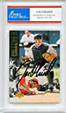Joe Girardi Autographed Colorado Rockies Encapsulated Trading Card - Certified Authentic
