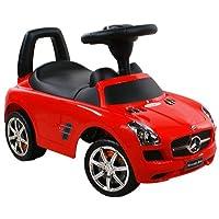 Spingere - Giocattolo da tirare - Baby car - Auto per bambini ARTI Mercedes SLS AMG 332 Red / Rosso Ride-On Attivit? giocattolo