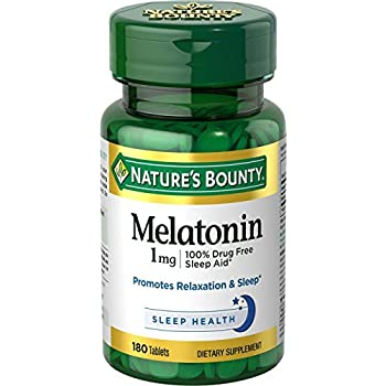 Natures Bounty Melatonin 1 mg, 180 Tablets