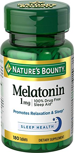 Natures Bounty Melatonin 180 Tablets