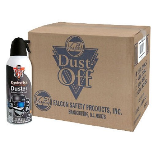 (Dust-Off Disposable Compressed Gas Duster, 10 oz Cans - 12)