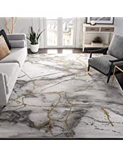 """Safavieh Craft Collection CFT877F Grey and Gold (6'7"""" x 9') Area Rug"""