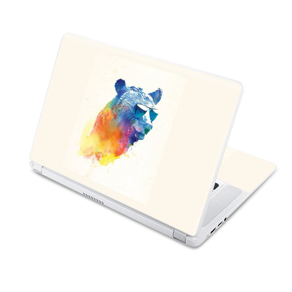 MightySkins Skin Compatible with Acer Chromebook 15 15.6'' (2017) - Sunny Bear | Protective, Durable, and Unique Vinyl Decal wrap Cover | Easy to Apply, Remove, and Change Styles | Made in The USA