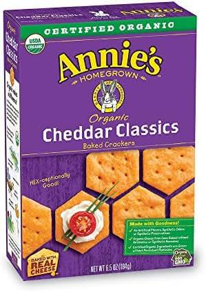 Crackers: Annie's Cheddar Classics