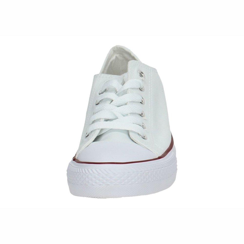 DEMAX 7-A1612A-12 Lonas Blancas Mujer Zapatillas