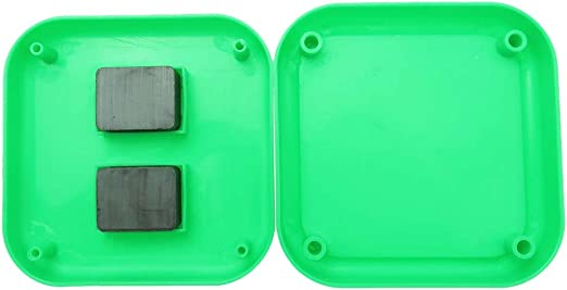 Vert chiwanji Organisateur Daiguilles Coussinet Epingle Magn/étique Coussin pour Aiguilles /à Main 8,5x8,5cm