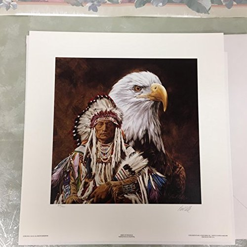 Paul Calle-SPIRIT OF THE EAGLE-Limited Edition Print