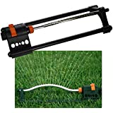 Oscillating Sprinkler with Adjustable Spray Lawn Grass Garden