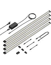 Parlat LED-onderkastverlichting Siris, aanrakingsdimmer, vlak, 90 cm, 800lm, warm-wit (set selecteerbaar)