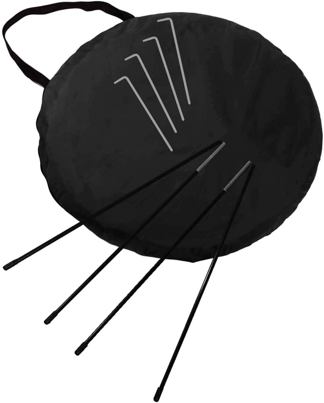 Style #DoYourOutdoor Fu/ßballtor//Torwand in der Gr/ö/ße 120x85x85cm inkl Erh/ältlich in Schwarz Rot /& Deutschland Tragetasche//verst/ärkter Rahmen f/ür hohe Stabilit/ät