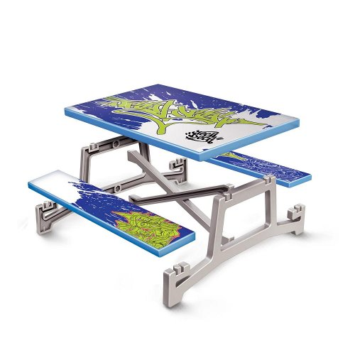 (Spinmaster Tech Deck Build A Ramp Playset Table)