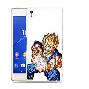 Case88 Designs Dragon Ball Z GT AF Son Goku Super Saiyan Gohan Kamehameha Protective Snap-on Hard Back Case Cover for Sony Xperia Z3