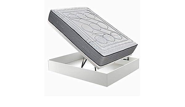 Pack Colchón Relax Papua más Abatible Hit Relax - Blanco, 135x190cm: Amazon.es: Hogar