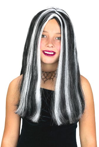 Streaked Witch Wig - Girls Streaked Witch Wig