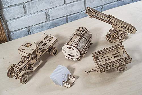 ふるさと納税 UGEARS + UGM-11 + トラックへの追加 ロット2 ロット2 機械式木製3Dパズル B07JR8LPQV B07JR8LPQV, フカヤスグン:bc30cff9 --- a0267596.xsph.ru