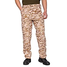 TACVASEN Men's Casual Tactical Military Lightweight Assault Combat Rip-stop Pants