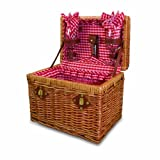 Picnic Time 'Chardonnay' Basket with Wine Service for Two