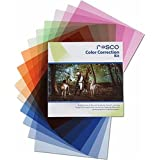 """Rosco Color Correction Filter Kit for Photographers and Filmmakers, 12x12"""""""