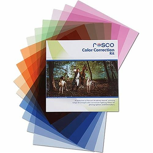 Rosco Color Correction Filter Kit for Photographers and Filmmakers, (Hmi Kit)