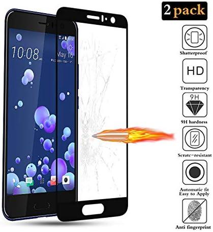 GoodcAcy[2-Pack Protector Pantalla HTC U11, Cristal Templado,Vidrio Templado con[9H Dureza][Alta Definicion][Garantía de por Vida] para HTC U11: Amazon.es: Hogar