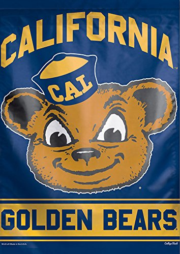 - WinCraft California Berkeley Golden Bears Retro Vertical Flag, 28 x 40 Inches