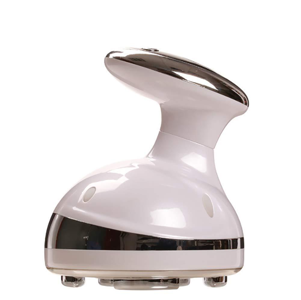 多機能ボディ振動マッサージャー、女性/男性の減量のための手持ち型のマッサージャー機械、総本店のスポーツのためのスマートなLCD表示, White B07TJWQ542