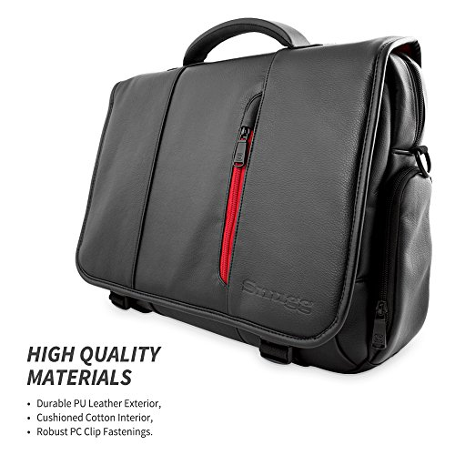 Amazon.com: Laptop Bag, Snugg8482; Crossbody Shoulder Messenger ...