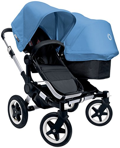 Bugaboo Donkey Complete Duo Stroller - Ice Blue - Aluminum