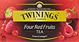 Twinings Four Red Fruits Tea (25 Tea Bags 50g / 1.8oz.)