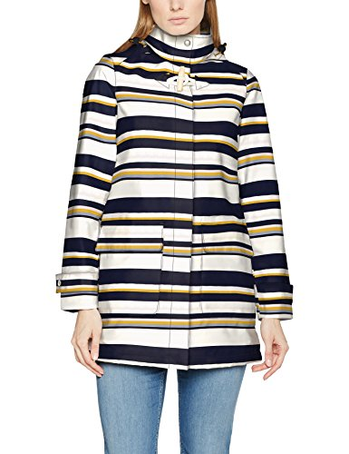 Joules Women's Haven Coat Multicoloured (Multi Stripe)