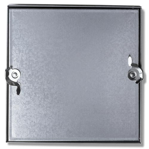 Duct Access Door W/No Hinge, Galvanized Steel, 12x12