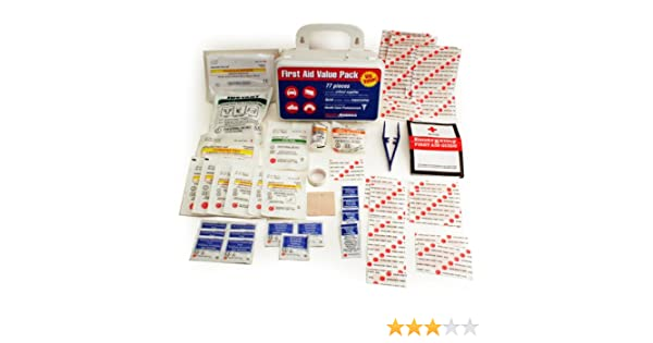 Ready America 74012 First Aid Value Pack, 77-Piece - Workplace First Aid Kits - Amazon.com