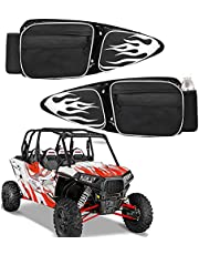RZR Door Bags,UTV Front Left and Right Side Storage Bag with Knee Pad Compatible with 2014-2021 Polaris RZR XP 1000 Turbo 900XC S900