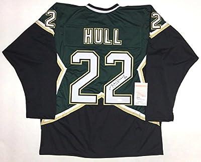 Signed Brett Hull Jersey - STARS WITNESSED COA #WP637000 - JSA Certified - Autographed NHL Jerseys