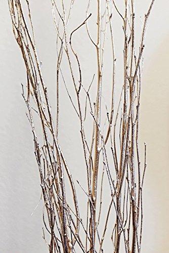 Richland Gold Leaf Birch Branches Birch 5 Feet Bundle (Artificial Branches Birch)