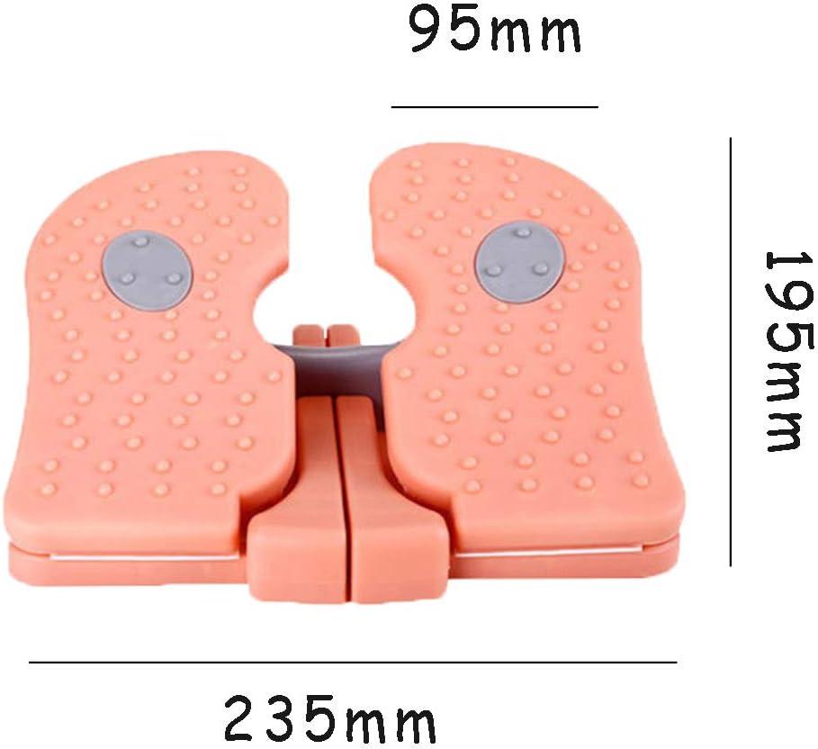 Formaci/ón del Pedal De La M/áquina Kexia Ejercicio Paso A Paso Casa Aerobic Equipo De La Aptitud,Azul Gire El Soporte del Pedal del Pie del Masaje Plegable En Forma De U