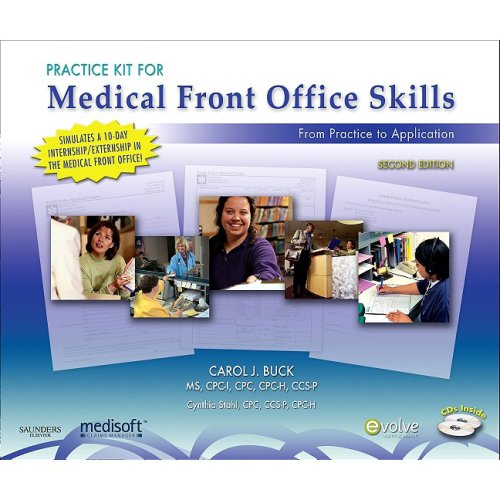 Practice Kit for Medical Front Office Skills with Medisoft Version 14, 2e